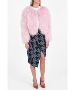 Charlotte Simone | Womens Curly Shearling Fuzz Jacket Boutique1
