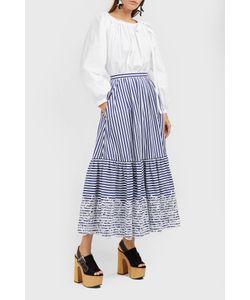Erdem | Leigh Striped Maxi Skirt Boutique1