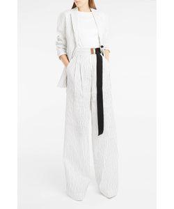 Tibi | Cecil Stripe Wide-Leg Trousers Boutique1