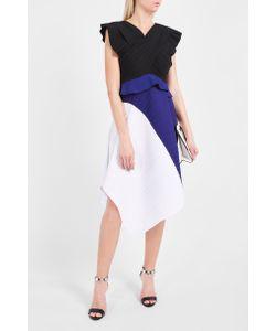 Proenza Schouler | Tri-Colour Asymetric Dress Boutique1