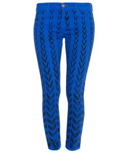 Current/Elliott | Chevron Print Skinny Ankle Jean