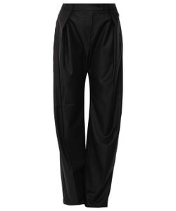 Preen by Thornton Bregazzi | Wide Leg Wool Pants
