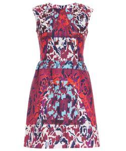 Peter Pilotto | Tri Printed S/L Waffle Dress