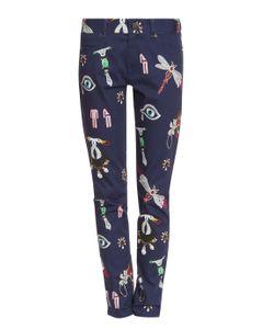 Mary Katrantzou   Printed Skinny Jeans
