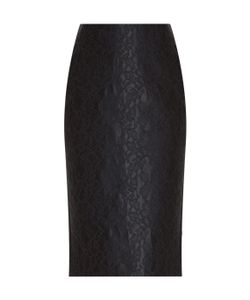 Adam Lippes | Bonded Lace Pencil Skirt