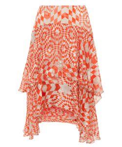 Preen by Thornton Bregazzi | Kenobi Printed Ruffle Skirt