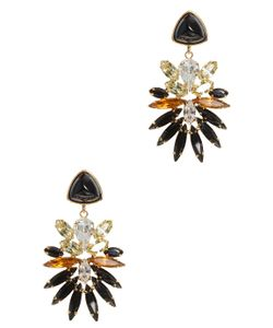 Lizzie Fortunato Jewels | Paradise Green Stone Earrings