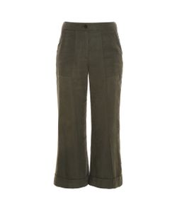Raquel Allegra | Cropped Trousers