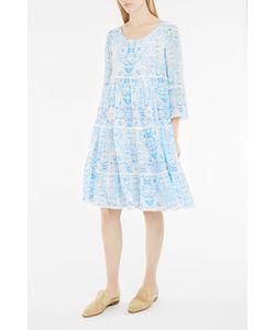 Athena Procopiou | Sky-Print Tiered Dress Boutique1