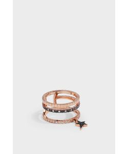 Diane Kordas | Triple Cosmo Star Ring Boutique1