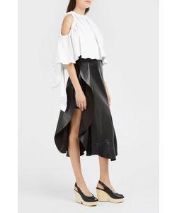 Ellery | Cold-Shoulder Ruffle Top Boutique1