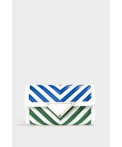 Sara Battaglia | Elizabeth Striped Shoulder Bag Boutique1