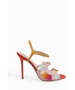 Paula Cademartori | Multi Colour Suede Sandals Boutique1