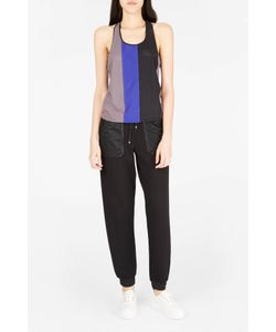 Monreal London | Womens Racer-Back Perforated Tank Top Boutique1