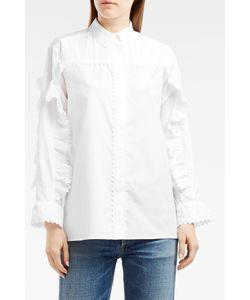 PAUL JOE | Ruffle-Sleeve Cotton Shirt Boutique1