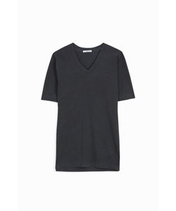 James Perse | Mens V-Neck Brushed-Cotton T-Shirt Boutique1