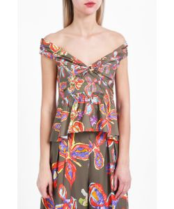Peter Pilotto | Print Peplum Top Boutique1
