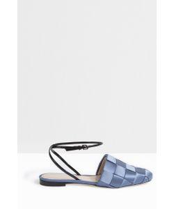 Marco de Vincenzo   Woven Leather Flats Boutique1