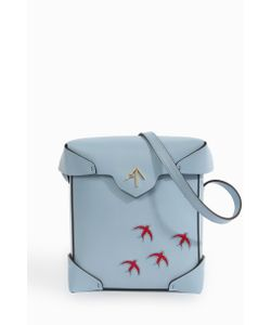 Manu Atelier | Mini Pristine Stitched Bird Bag Boutique1