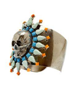 Tom Binns | Skull Coloured Cuff