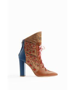 Malone Souliers | Larisa Lace-Front Boots Boutique1