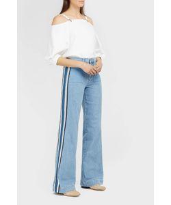 Victoria, Victoria Beckham | Side Stripe Wide-Leg Jeans
