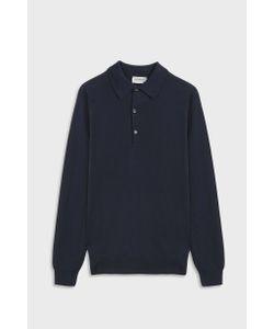 John Smedley   Bradwell Polo Cotton Shirt Boutique1
