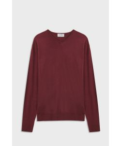 John Smedley | Shipton V-Neck Merino Wool Pullover Boutique1
