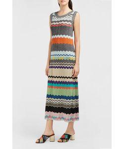 Missoni | Lurex Zig-Zag Knit Midi Dress Boutique1