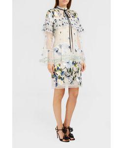 Erdem | Lyndell Sheer Tier Dress Boutique1
