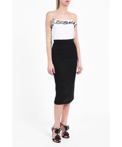Roland Mouret | Arreton Basket Weave Skirt Boutique1