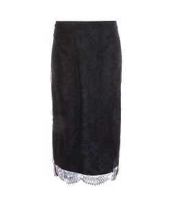 Rochas | Lace Pencil Skirt