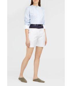 Victoria, Victoria Beckham | Button Front Shorts Boutique1
