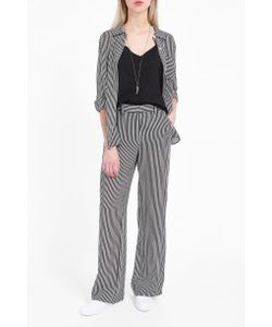 A.L.C. | A.L.C. Miles Striped Silk Trousers Boutique1
