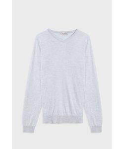 John Smedley | Aydon V-Neck Cotton Pullover Boutique1