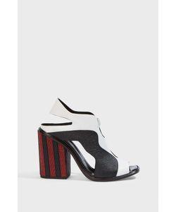 Proenza Schouler | Striped Block-Heel Sandals Boutique1