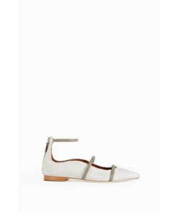 Malone Souliers | Womens Robyn Glitter-Encusted Flats Boutique1