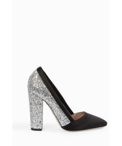 Giambattista Valli | Womens Glitter Block Heel Pumps Boutique1