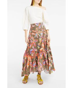Peter Pilotto | Print Cotton Skirt Boutique1