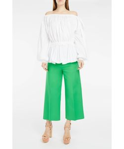 Rochas | Cropped Tailored Trousers Boutique1