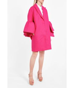 Delpozo | Frill Sleeve Coat Boutique1