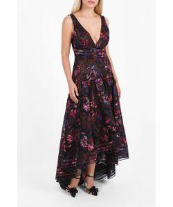Marchesa Notte | Printed Chiffon Gown Boutique1