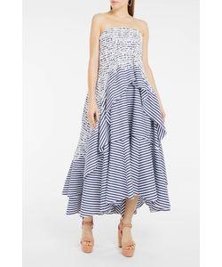 Erdem | Babette Stripe Bandeau Dress Boutique1