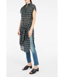 R13 | Plaid Tie-Waist Dress Boutique1