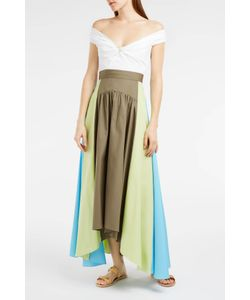 Peter Pilotto | Panelled Cotton Maxi Skirt Boutique1