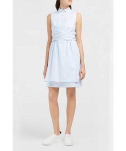 Derek Lam 10 Crosby | Tie-Front Poplin Shirt Dress Boutique1