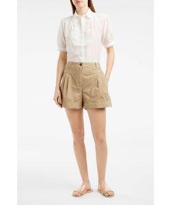 PAUL JOE | Lace Detail Short-Sleeved Shirt Boutique1
