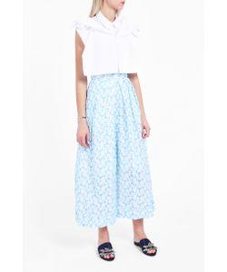 Delpozo | Poplin Bib Shirt Boutique1