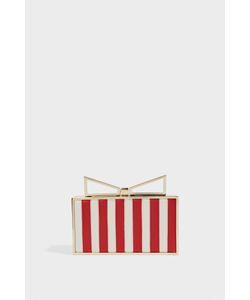 Sara Battaglia | Lady Me Elizabeth Striped Clutch Boutique1