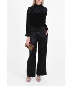 Cecilie Copenhagen   Mason Satin Wide Trousers Boutique1